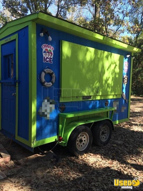 Shaved Ice Concession Trailer Snowball Trailer Texas for Sale