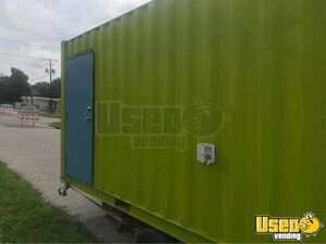 Shipping Cargo Food Concession Trailer Conversion Concession Trailer Concession Window Florida for Sale