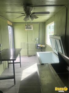 Shipping Cargo Food Concession Trailer Conversion Concession Trailer Deep Freezer Florida for Sale