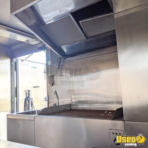 Shipping Container Food Concession Trailer Kitchen Food Trailer Double Sink New Jersey for Sale