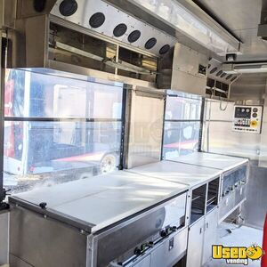 Shipping Container Food Concession Trailer Kitchen Food Trailer Refrigerator New Jersey for Sale