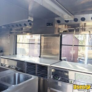 Shipping Container Food Concession Trailer Kitchen Food Trailer Upright Freezer New Jersey for Sale