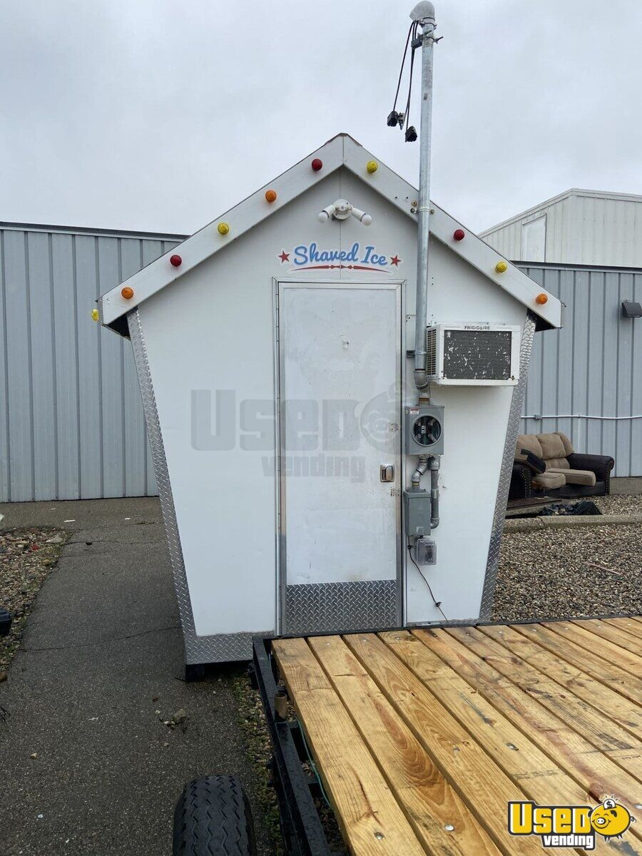 Sno Shack Inc Snowball Trailer Air Conditioning Michigan for Sale - 2