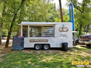 Turnkey 7' x 16' Wells Cargo Shaved Ice Concession Trailer / Snowball Stand for Sale in Alabama!