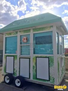 Fully Operational 7' x 10' Tropical Sno Shaved Ice Concession/Snowball Trailer for Sale in Arizona!