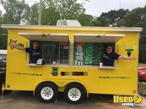 2015 - 6' x 14' Sno Pro Shaved Ice Concession Trailer for Sale in Arkansas!!!