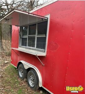Rarely Used 2015 8' x 16' Covered Wagon Snowball/Shaved Ice Concession Trailer for Sale in Arkansas!