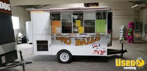 2003 - 7' x 10.7' Used Shaved Ice Snow Ball Concession Trailer for Sale in California!!!