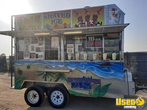 2009 - 12' Shaved Ice Concession Trailer / Permitted Street Food Trailer for Sale in California!