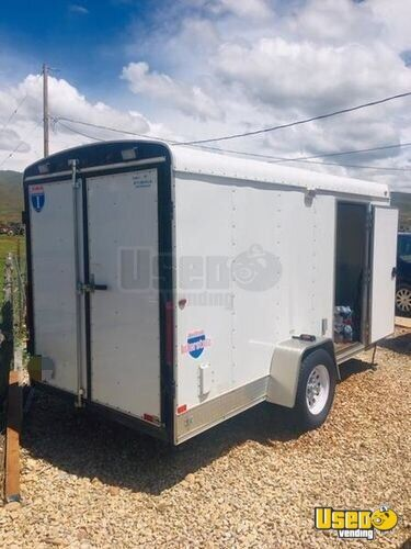 Snowball Trailer Concession Window Utah for Sale