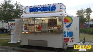 6' x 12' Shaved Ice Concession Trailer for Sale in Florida!!!