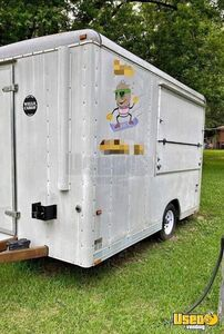 Wells Cargo 7' x 14' Shaved Ice Concession Trailer / Used Snowball Trailer for Sale in Georgia!