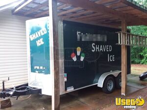 2017 - 7' x 14' Shaved Ice Concession Trailer for Sale in Georgia!!!