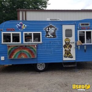 Vintage 1965 Holiday Rambler 8' x 16' Snowball Concession Trailer/Shaved Ice Stand for Sale in Iowa!