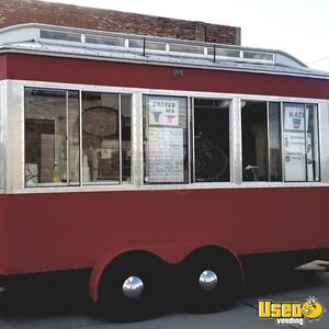 2017 - 8' x 16 Shaved Ice / Lemonade Trolley Style Trailer for Sale in Kansas!!!