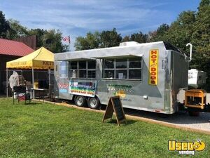 Custom 2019 8.5' x 20' Homestead Snowball / Kettle Corn Concession Trailer for Sale in Kentucky!