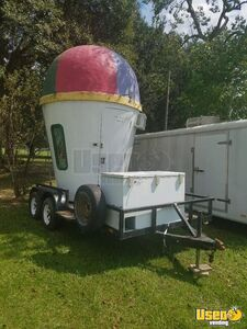 8' x 14' Shaved Ice Concession Trailer for Sale in Louisiana!!!