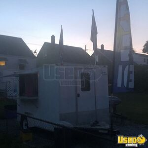 2010 - 7' x 12' Lark Used Shaved Ice Concession Trailer for Sale in Maryland!!!