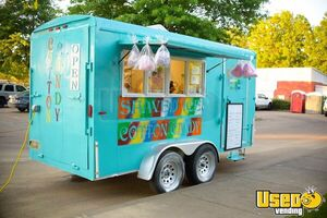 2002 6' x 14' HMDE Shaved Ice/Snowball and Cotton Candy Concession Trailer for Sale in Mississippi!