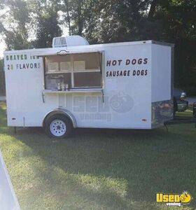 2020 - 6' x 12' Snowball Concession Trailer / Used Shaved Ice Trailer for Sale in North Carolina!