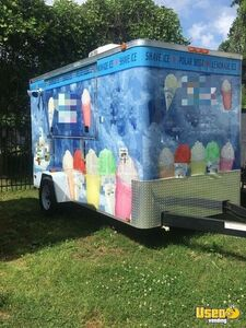 2013-6' x 12' Turnkey Shaved Ice Concession Trailer for Sale in North Carolina!!