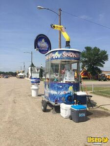 5' x 8' Snowie Snowball Shaved Ice Concession Stand Trailer for Sale in South Dakota!