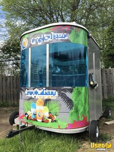 8' x 10' Snowie Shaved Ice Concession Trailer / Mobile Snowball Business for Sale in Ohio!