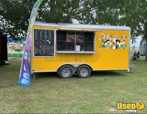 Turnkey 2018 Cargo Craft 8.5' x 16' Shaved Ice Concession Trailer for Sale in Oklahoma!