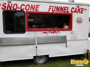 Vintage 1968 - 7' x 12' Waymatic Funnel Cake and Snowball Concession Trailer for Sale in Oklahoma!