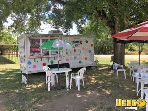 2010 Wells Cargo Magnum 7' x 16' Shaved Ice/Snowball Concession Trailer for Sale in Texas!