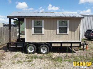 2017 - 7' x 16' Used Snowball Concession Trailer for Sale in Texas!!!