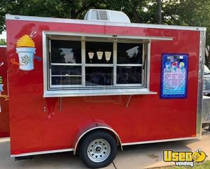 2018 - 6' x 12' Shaved Ice Concession Trailer for Sale in Texas!!!