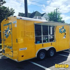 Turnkey 2014 Haulmark 7' x 14' Shaved Ice/Snowball Concession Trailer for Sale in Texas!