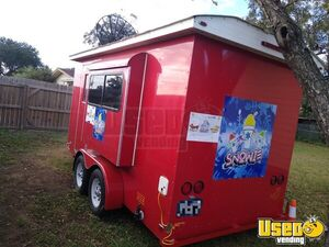 2015 - 6' x 14' Sno Pro Shaved Ice Concession Trailer / Mobile Snowball Biz for Sale in Texas!