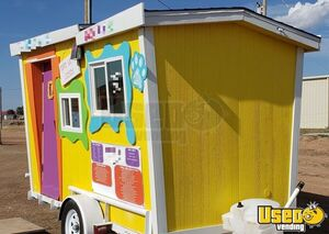 Turnkey 6' x 12' Mobile Snowball Business / Fully Rebuilt Shaved Ice Concession Trailer for Sale in Texas!!