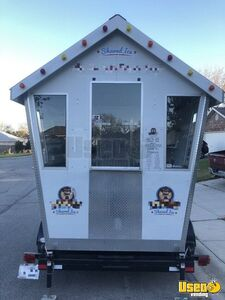 2012 Snoshack 6' x 7.25' Snowball Stand Shaved Ice Concession Trailer for Sale in Texas!