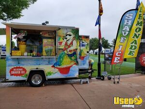 2009 - 7' x 10' Lark Shaved Ice Concession Trailer with for Sale in Virginia!!!