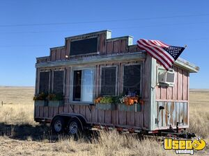 Turnkey 2019 8.5' x 20' Custom-Built Western-Style Snowball Concession Trailer for Sale in Wyoming!