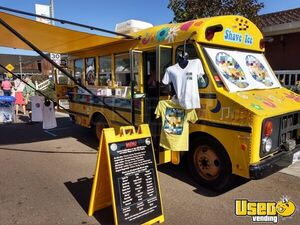 Certified Full Turnkey Classic Chevy Thomas Bus 20' Shaved Ice Snowball Truck for Sale in California!