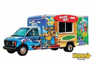 Turnkey Concession Business with GMC Shaved Ice Truck for Sale in Texas!!!