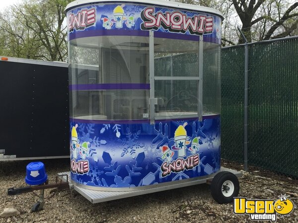 Snowie 8ft Building Snowball Trailer Illinois for Sale