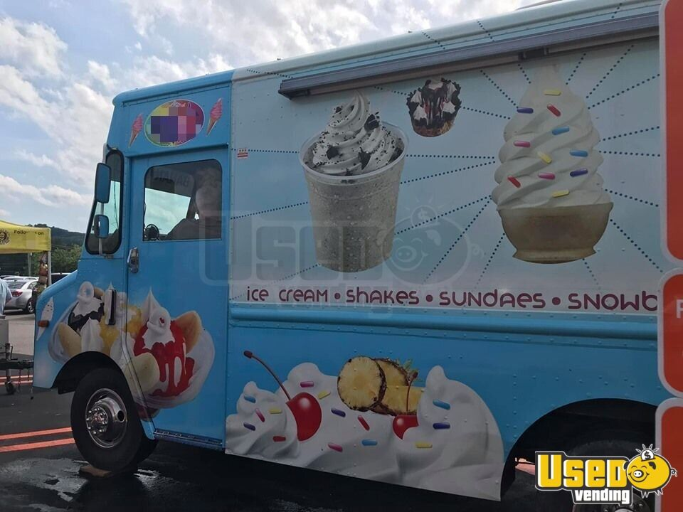 Step Van Ice Cream Truck Ice Cream Truck Air Conditioning Missouri Gas Engine for Sale - 2