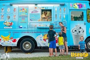 Step Van Ice Cream Truck Ice Cream Truck Concession Window Missouri Gas Engine for Sale
