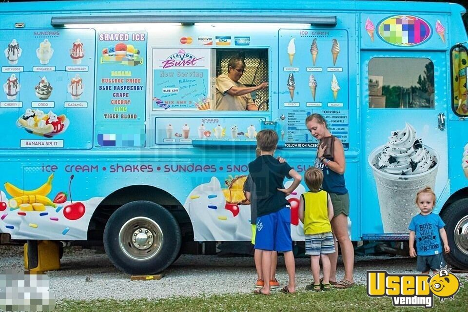 Step Van Ice Cream Truck Ice Cream Truck Concession Window Missouri Gas Engine for Sale - 3