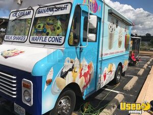Step Van Ice Cream Truck Ice Cream Truck Triple Sink Missouri Gas Engine for Sale