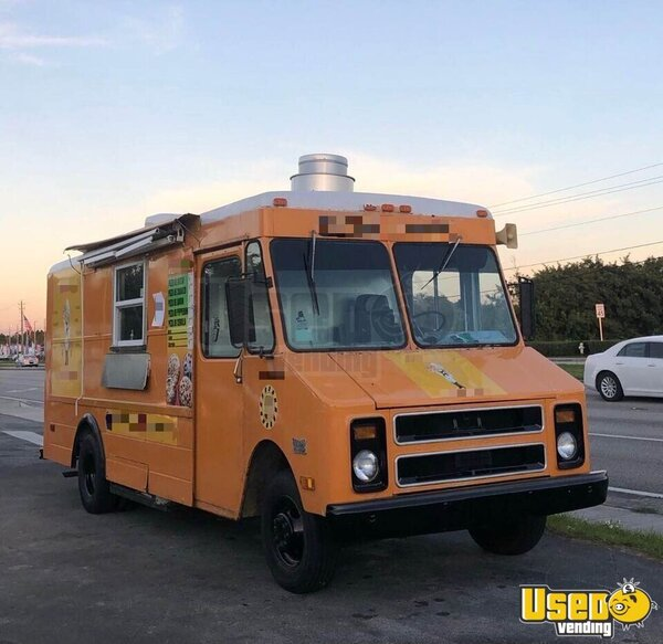 Step Van Kitchen Food Truck All-purpose Food Truck Florida for Sale