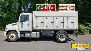 2014 Hino 268 Model with a 14' Framec Cold Plate Reefer Body for Conversion for Sale in Connecticut!