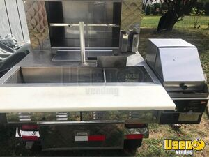 Street Food Concession Cart Food Cart Double Sink Connecticut for Sale