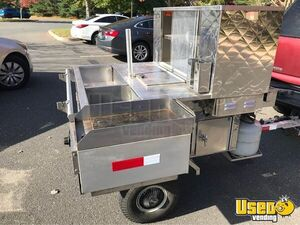 Street Food Concession Cart Food Cart Flat Grill Connecticut for Sale