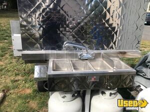 Street Food Concession Cart Food Cart Handwash Sink Connecticut for Sale